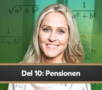 Compricers ekonomiskola del 10: Pensionen 1