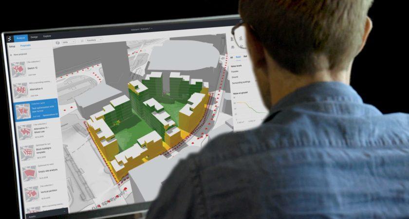 ÅWL Arkitekter och Spacemaker inleder AI-partnerskap