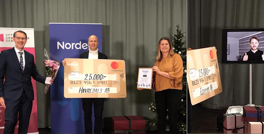 Startups vinner 75 000 kr under UICs Julgransplundring