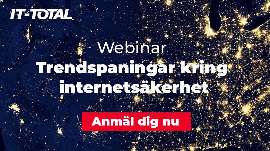 Webinar | Trendspaningar kring internetsäkerhet 1