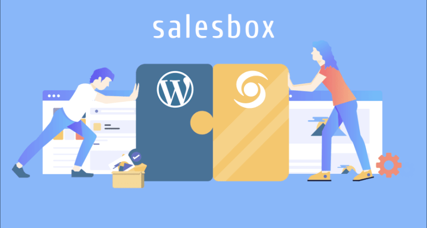 Salesbox lanserar formulär plugin för WordPress