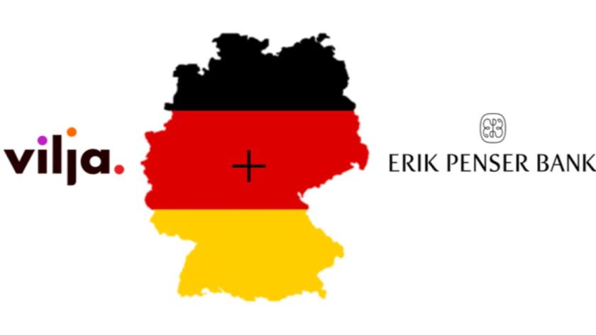Erik Penser Bank valde Viljas bankplattform för sin spartjänst i Tyskland