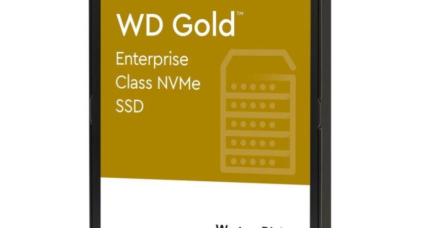 Western Digital lanserar WD Gold NVMe SSD:er för nästa generations företagande