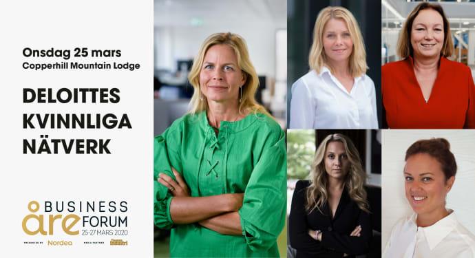 Förändring och berättande i fokus under Deloittes kvinnliga nätverk 25 mars