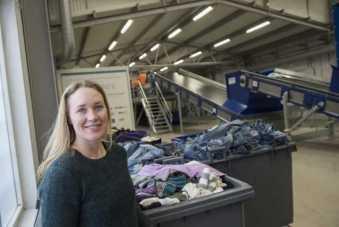 Storskalig anläggning för automatiserad textilsortering planeras i Malmö 1