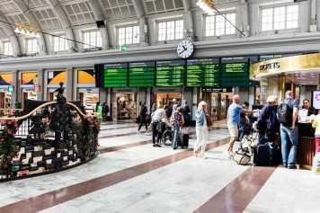 Samhällsdebatten får fler att välja tåget 1
