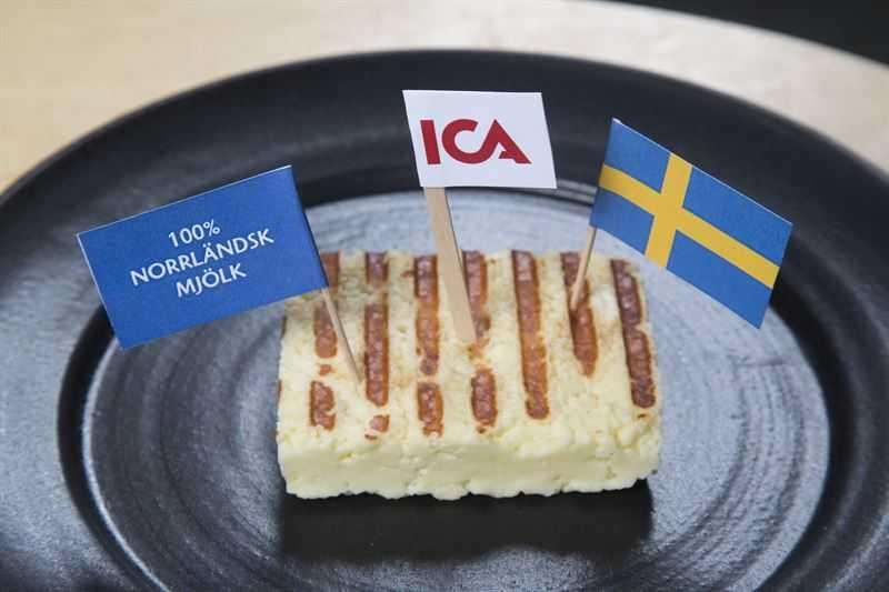 ICA lanserar ett svenskt alternativ till halloumi 1