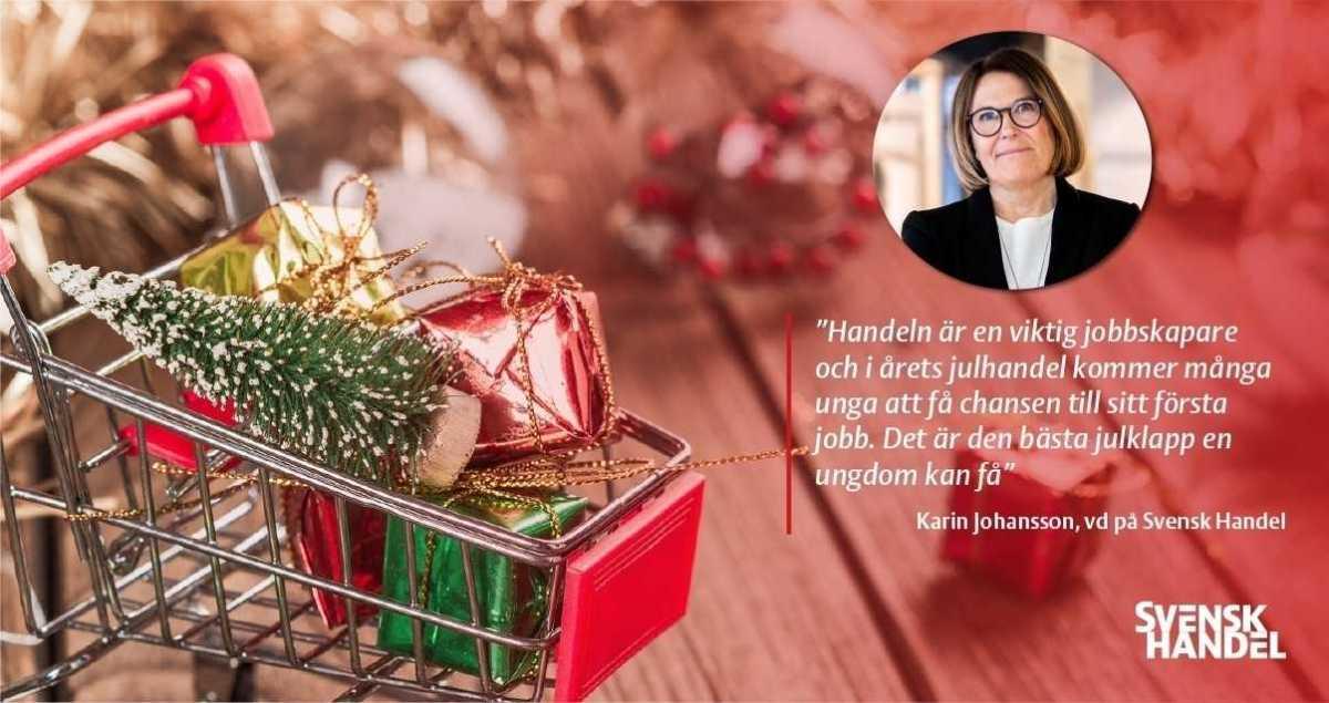 Årets julrapport: Julhandeln väntas skapa 15 000 extra jobb 1