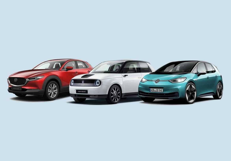 Premiär för tre nya folk-elbilar!