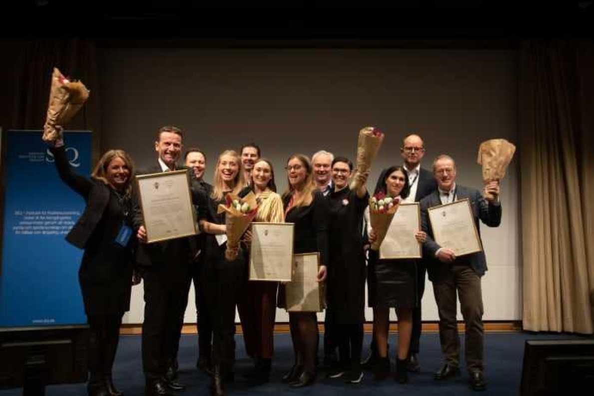 Hållbarhet och framtidstro genomsyrade årets Quality Innovation Award-gala 1