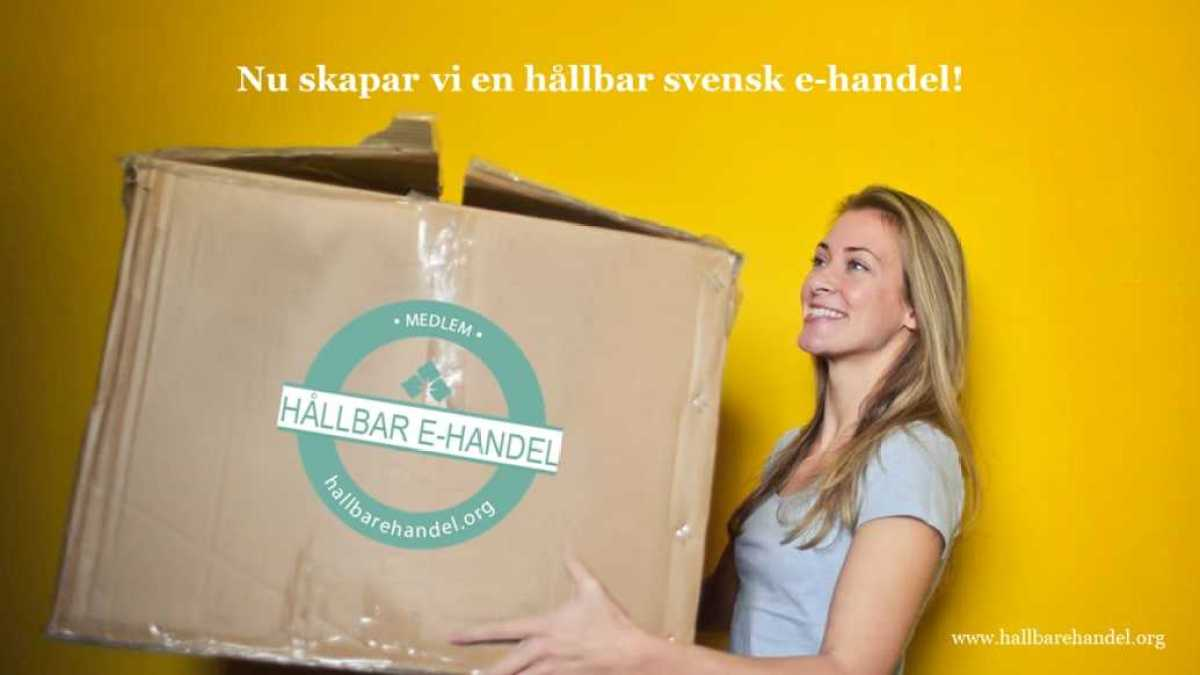 Sveriges e-handlare startar organisationen Hållbar E-handel 1