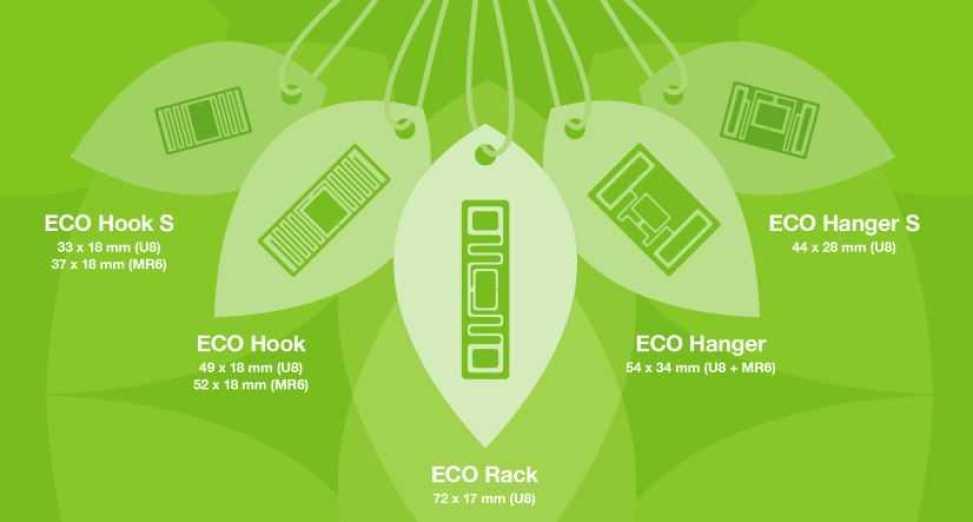 Modekedjan Gina Tricot använder hållbara ECO RFID-taggar från Stora Enso 1