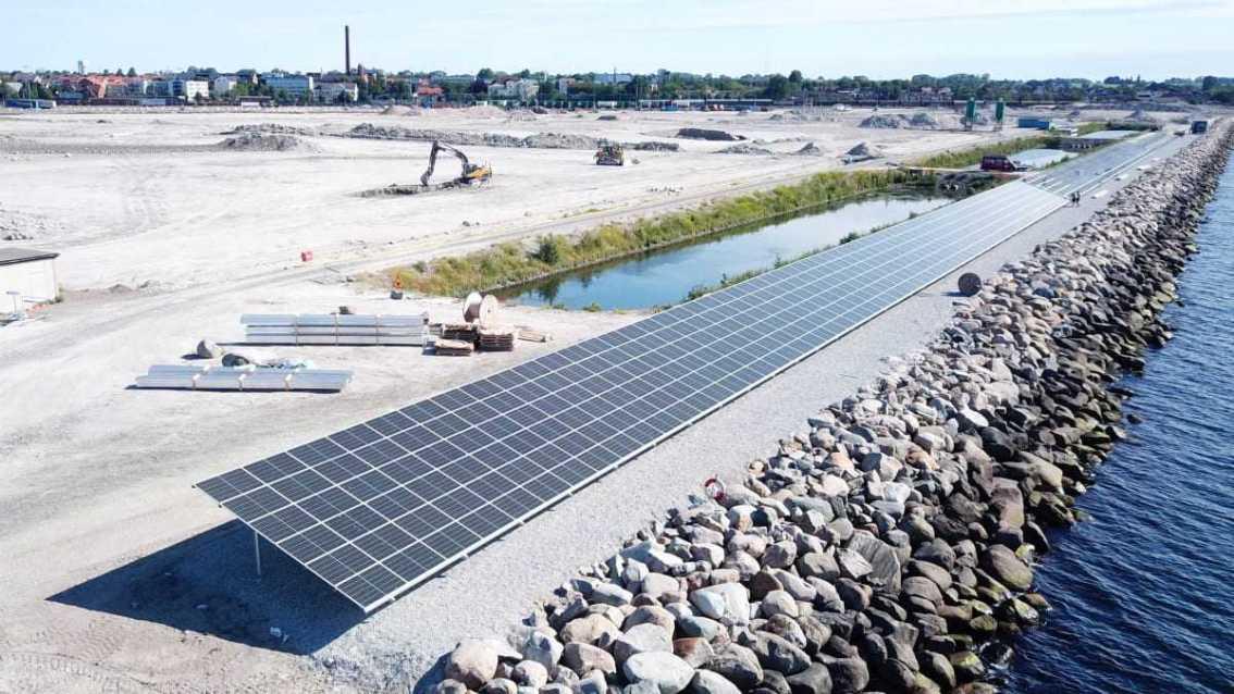 Solcellspark byggs i Östersjöns klimatsmartaste hamn 1