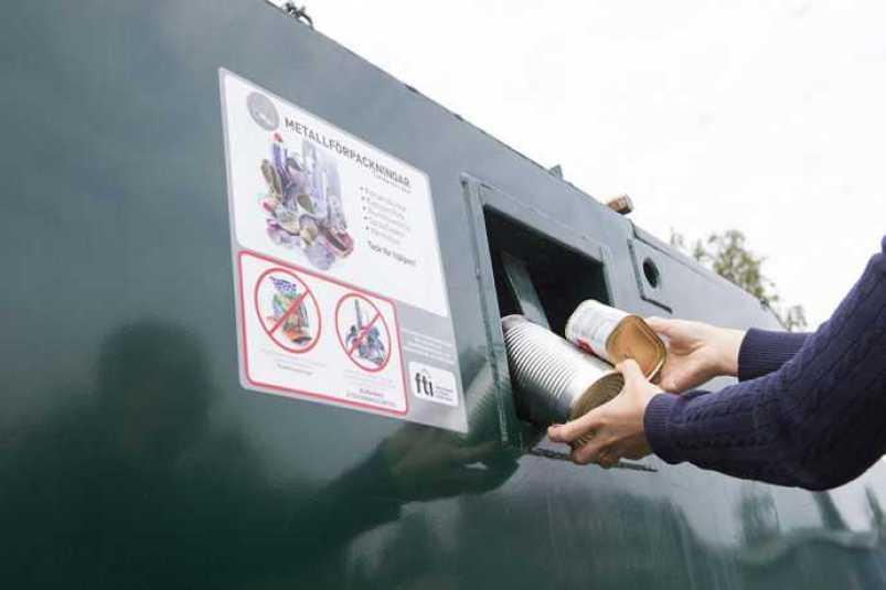 Kraftig ökning av förpackningar på landets återvinningsstationer 1