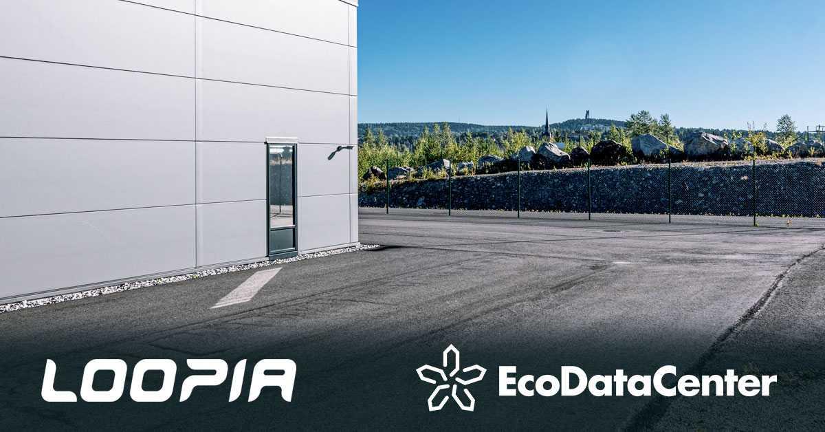 Loopia väljer EcoDataCenter för hållbara datacentertjänster 1