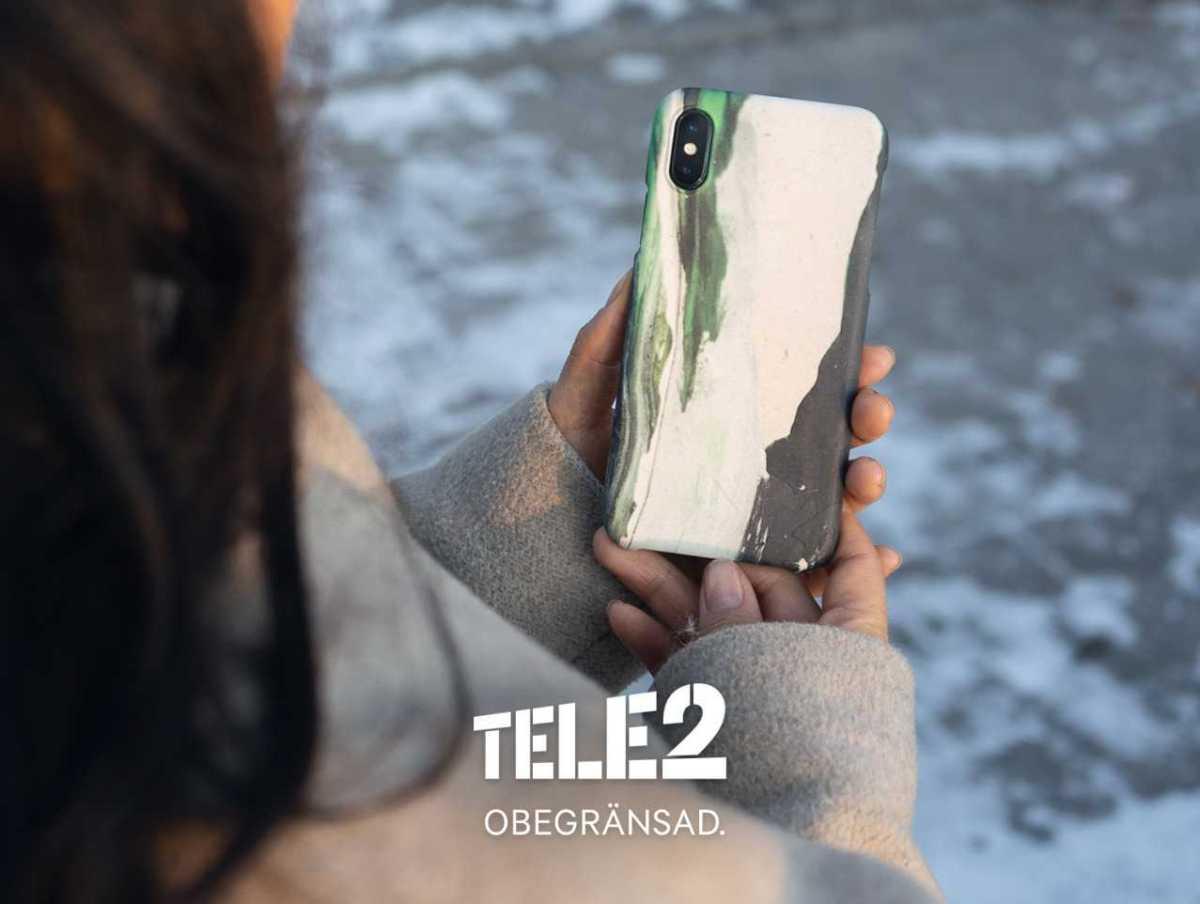 Tele2 lanserar Sveriges första cirkulära mobilskal