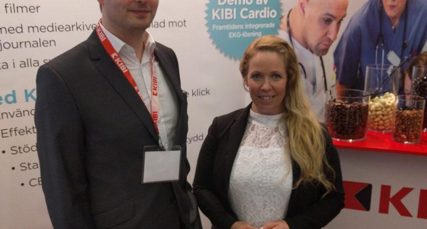Kibi har hittat ett vinnande koncept på Vitalis – nordens största konferens för e-hälsa