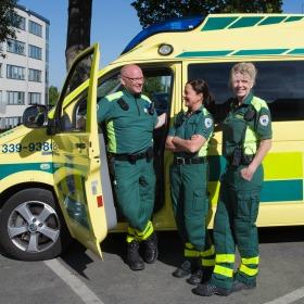 Ny MobiMed Smart/Toughpad-lösning ska förbättra ambulanssjukvården i Örebro
