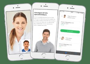 E-hälsobolag som erbjuder specialistläkare tar in 4,7 MSEK