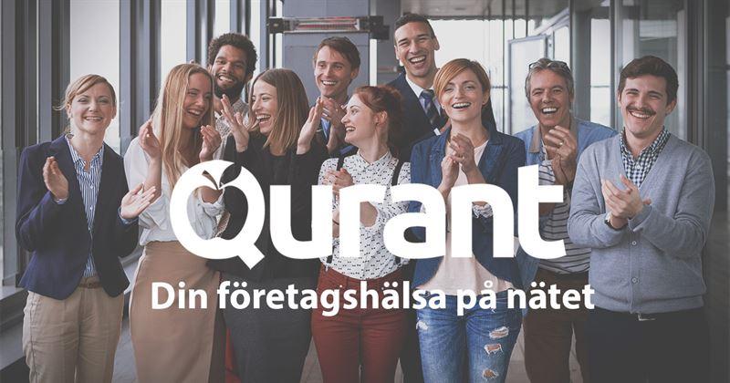 Sveriges första digitala tjänst för företagshälsovård erbjuds av Qurant.