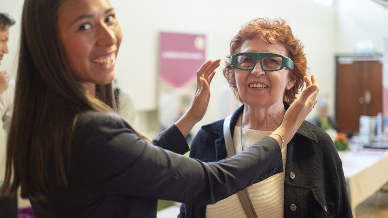 Smarta glasögon kan ge personer med demens högre livskvalitet