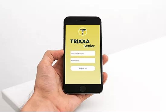 TRIXXA – Appen som förenklar vård av anhörig i hemmet
