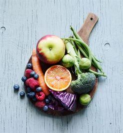 Frukt och grönt till barn med astma positivt för lungfunktionen 1