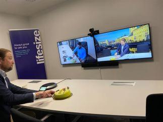 Årets 100:e kund köpte komplett videokonferenslösning – Offitech fortsätter växa inom alla affärsområden 1