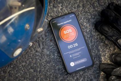 SOS Alarm lanserar sensorlarm för MC-olyckor 1