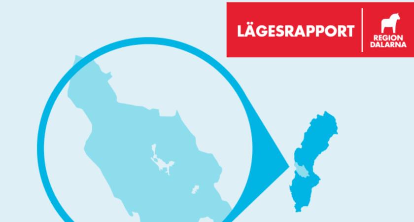 Lägesrapport covid-19 i Dalarna: 23 juli