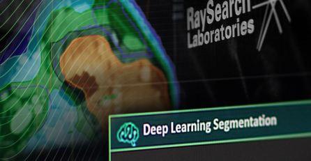 RayStations maskininlärningsalgoritm effektiviserar arbetsflödet på svensk strålbehandlingsklinik 1