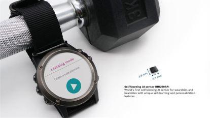 Bosch lanserar världens första självlärande AI-sensor för kroppsburna enheter. 1