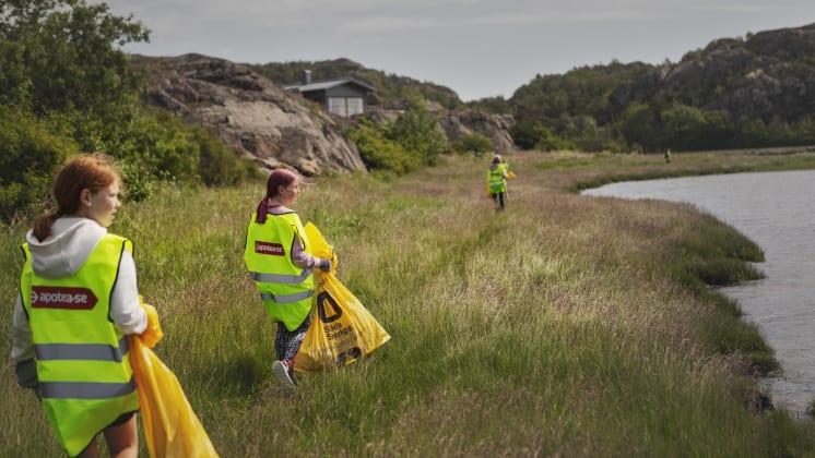 Akademiska Hus Apotea Clean-Up Day- en premiärhelg som gav mersmak