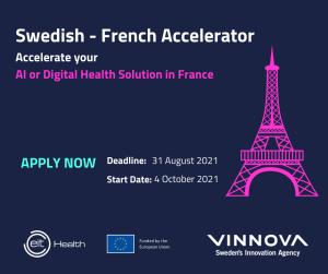Europeiska life science nätverket EIT Health bjuder in svenska startups och tillväxtbolag till samarbete inom digital hälsa och AI