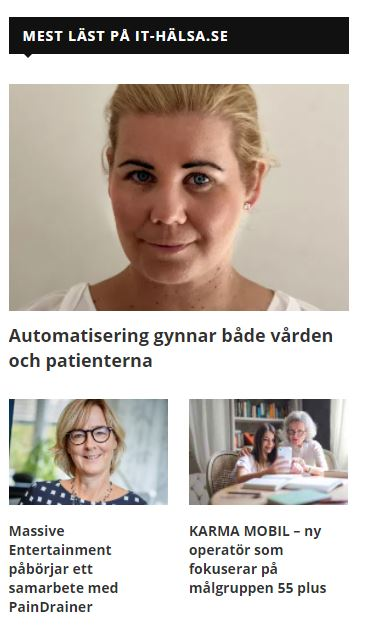 Content / Hälsoröst