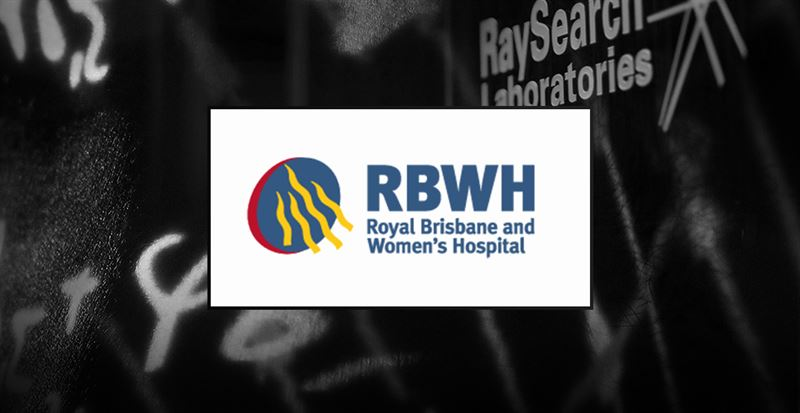 Queensland's Royal Brisbane och Women's Hospital väljer RayStation dosplaneringsystem från RaySearch för planering på Varianmaskiner
