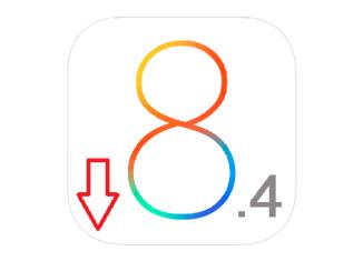 даунгрейд iOS 8.4