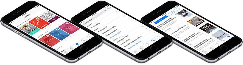 iOS9 приложение Новости