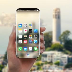 iPhone 8 будет похож на водную каплю