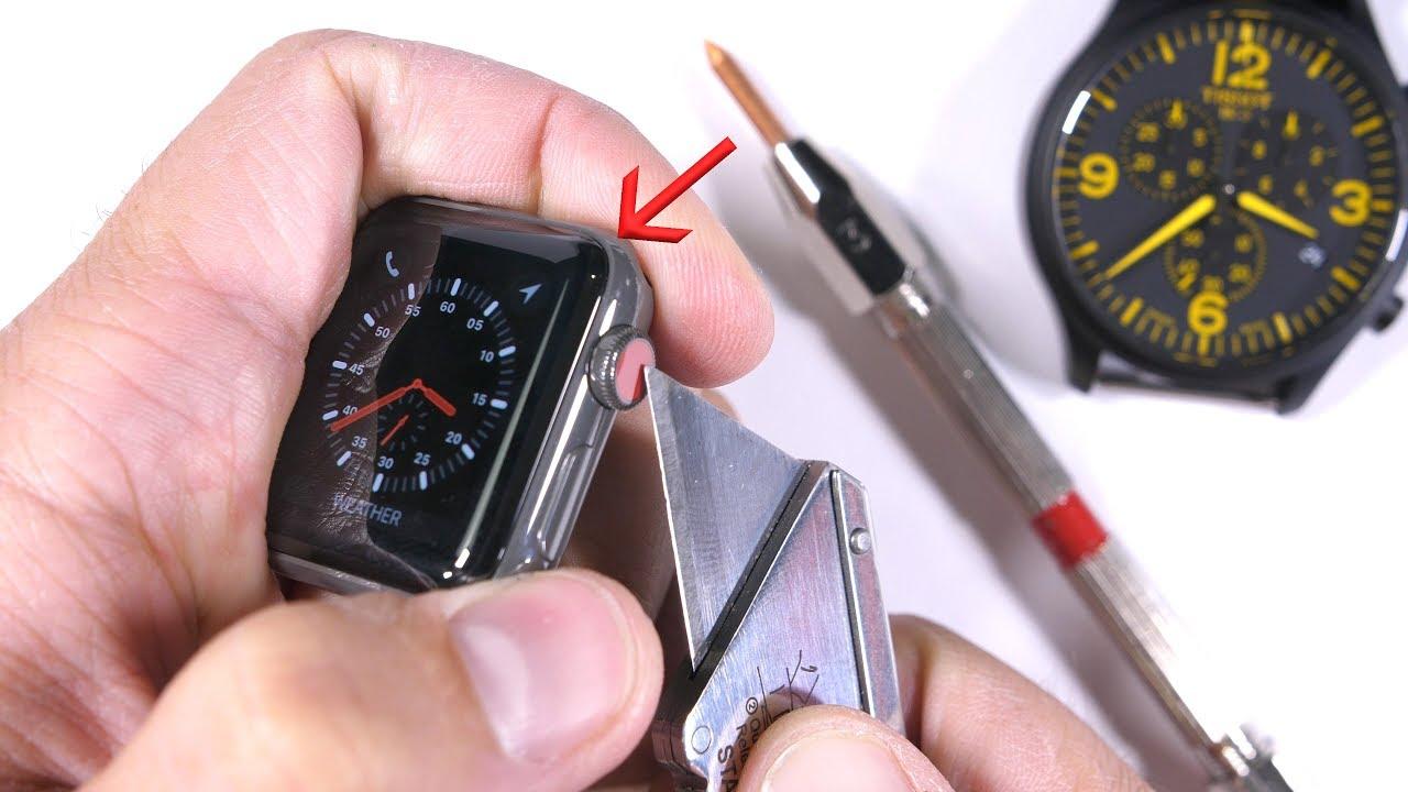 Для стекла Apple Watch 3 Series применяется ненастоящий сапфир— специалист