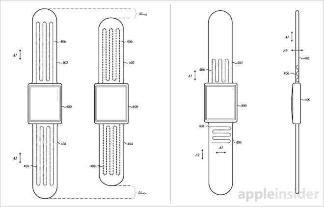 Apple получили патент на«умные» часы, которые застегиваются самостоятельно