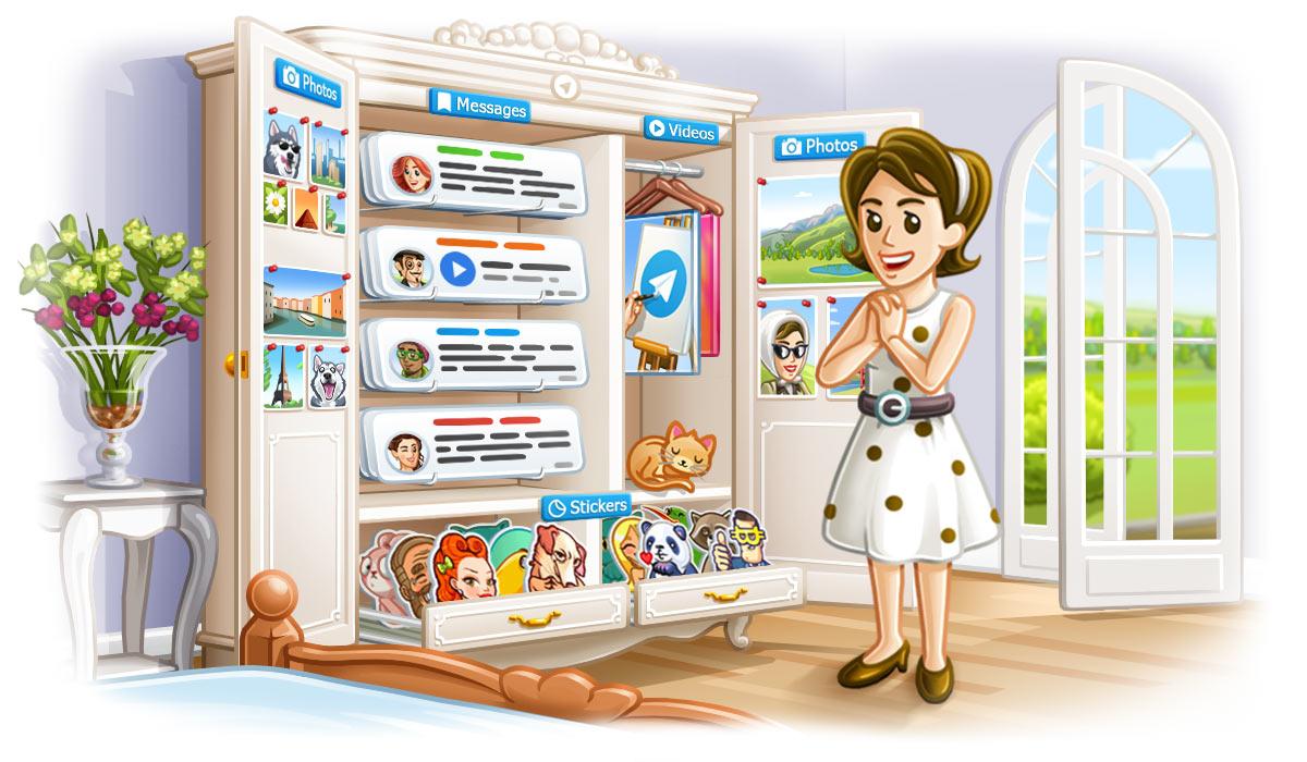 Telegram выпустил новейшую версию собновленным функционалом