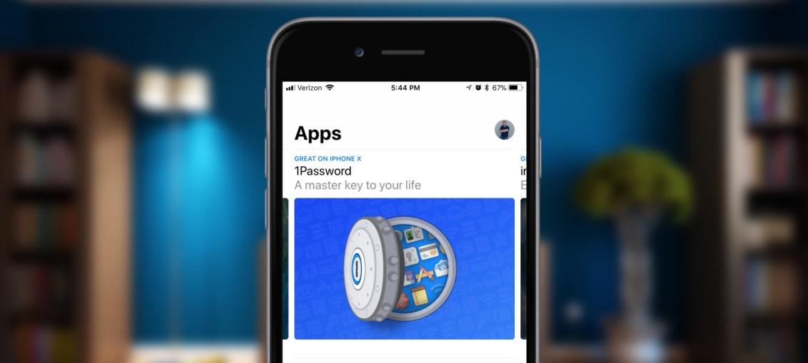 iPhone-X-app-store