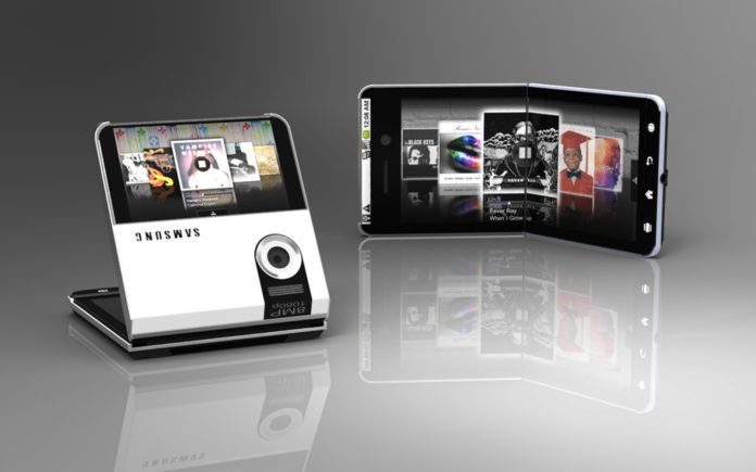 Сгибающийся смартфон Самсунг Galaxy Xофициально подтвержден производителем