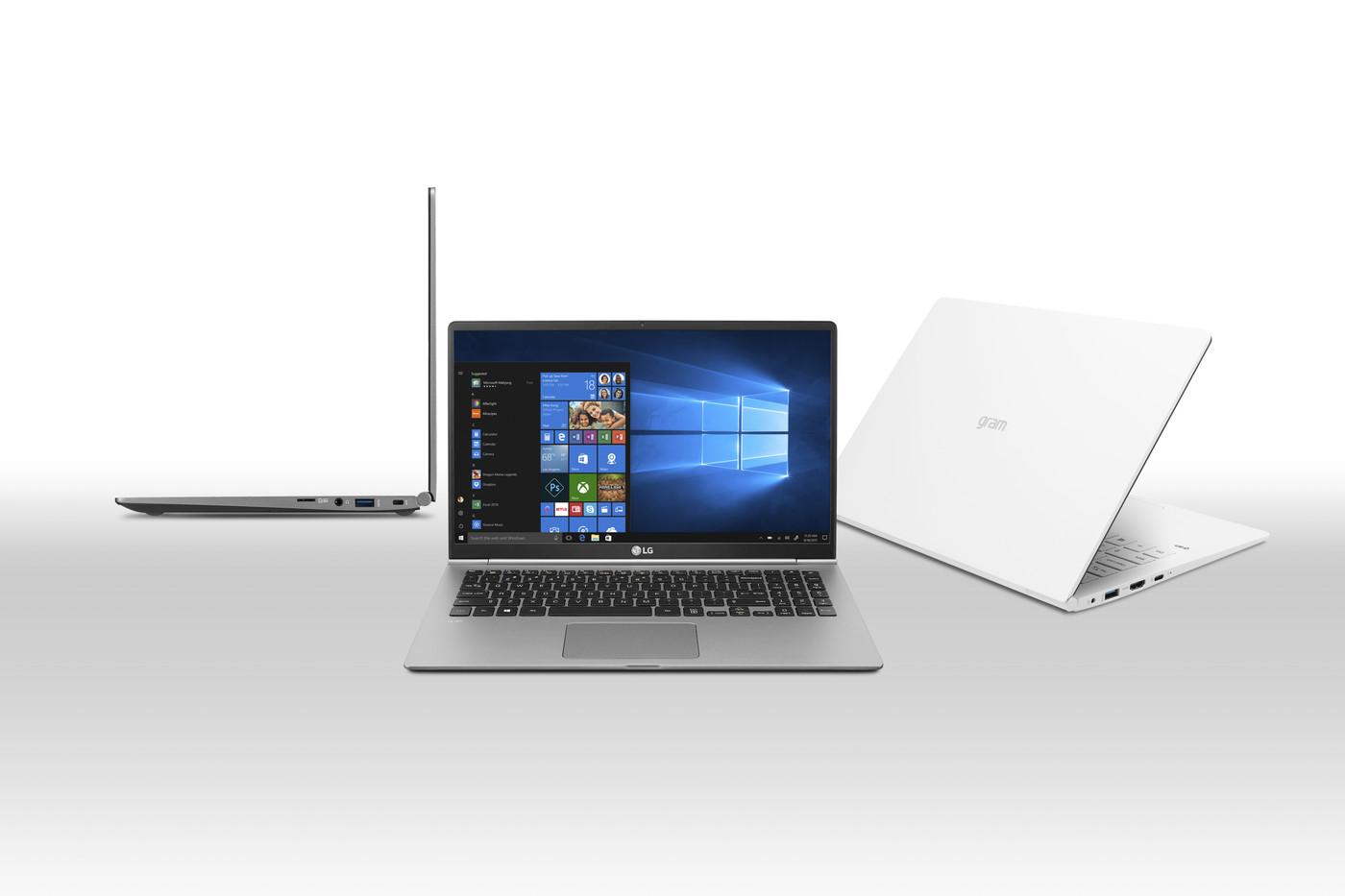 Обновленные ноутбукиLG Gram весят менее килограмма