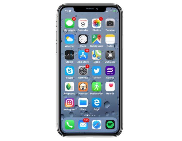 IPhoneXI 2018— 1-ый вмире безусловно безрамочный смартфон споддержкой 5G