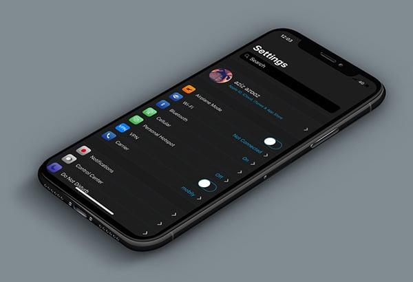 iphone-x-dark-mode-eclipse-x