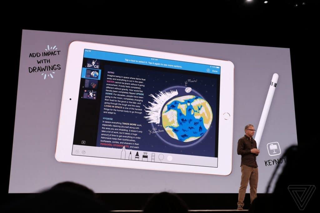 Apple представила новый iPad для школьников истудентов