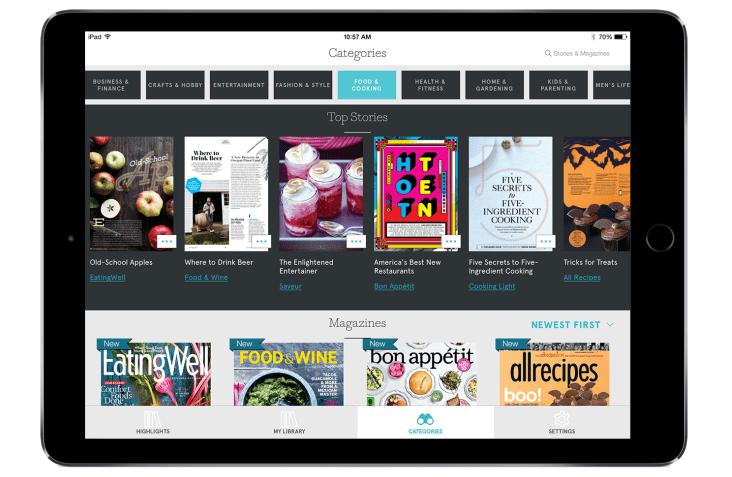 Apple приобрела сервис для чтения журналов врежиме онлайн