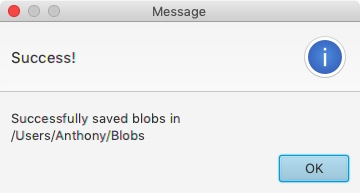 Blobsaver-Successful